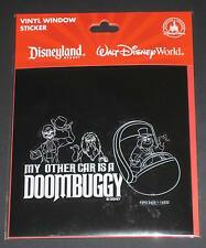Disneyland DLR Haunted Mansion Hitchhiking Ghosts Doombuggy Window Cling