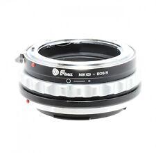 Fikaz Nikon A Canon EOS R Lente Montaje Adaptador
