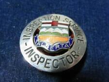"Orig Antique Obsolete Badge ""Inspection Service - Alberta"""