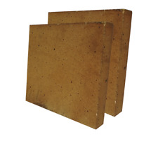 30% Alumina Refractory Fire Brick Kit 2426°F of 2 replacements 12'' x 12'' x 2''