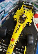 JORDAN 199 HEINZ HARALD FRENTZEN HONDA FORMULA 1 RACING CAR HOTWHEELS 1:18 1999