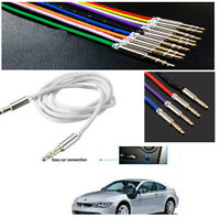 3.5mm Car Aux Auxiliary Cord Male To Male Stereo Audio Cable For MP3 iPhone iPod