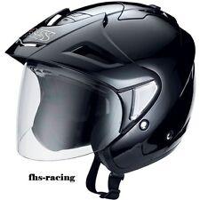 Neu IXS Helm Jethelm HX 95  schwarz glanz Gr. XXL (63) , Motorradhelm Rollerhelm