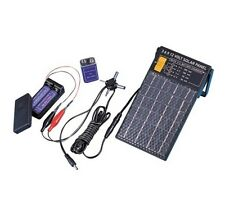 Charge AA & 9 Volt Batteries New Solar Panel That Generates 3, 6, 9, 12 Volts!