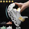 New Fashion Mens Athletic Shoes Running Walking Sports Breathable Sneaker Shoes