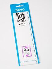 DAVO CRISTAL STROKEN MOUNTS C40 (215 x 44) 18 STK/PCS