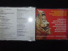 COFFRET 2 CD MUSIQUE MEXICAINE DE CHAVEZ - VILLA LOBOS ETC.......... / LOZANO /