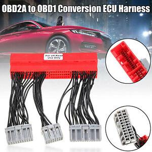 OBD2A to OBD1 Conversion ECU Jumper Harness Adapter for Honda / Acura
