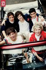 One Direction Car POSTER 60x90cm NEW Niall Harry Zayn Louis Liam 1D Boy Band