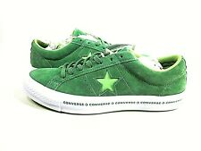 Converse One Star OX Premium Suede Men's Mint Green/Jade Lime,US Size 9,New