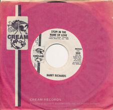 BARRY RICHARDS Stop In The Name Of Love / same 45 rpm DJ Promo NM