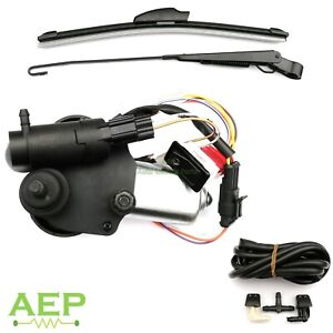 12V Universal Windscreen Wiper Motor Kit for Willys Jeep 01287358 – 7731000001