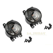 Car Front Bumper Left Right Driving Light DRL Fog Light Lamp H11 Bulbs 55W