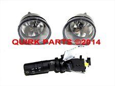 2004-2015 Nissan Titan Fog Light Lamps Switch Kit w/o Auto Head Lights OEM NEW