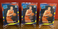 Lot x3 2017-18 OPTIC LAURI MARKKANEN RC #159 *RED/YELLOW RATED ROOKIE Bulls PSA?