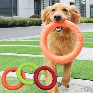 Pet Flying Discs EVA Dog Training Ring Puller Resistant Bite Floating Toy Puppy