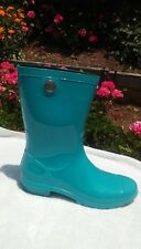 UGG SIENNA  Rain boots Teal Sheepskin insole US 8 New 1014452 ELB