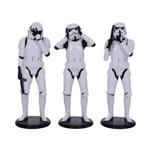 Nemesis Now Three Wise Stormtroopers Star Wars Figurine Sculpture