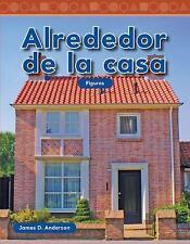 Alrededor de la casa (Mathematics Readers) (Spanish Edition)