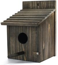 Wooden Bird House (5.9x5.9x8.66)