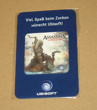 Assassin's Creed 3 III RARE PROMO screen/écran Cleaner/Nettoyant