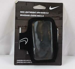 Nike Lightweight Arm Band Cell Phone Black Unisex NEW 1149