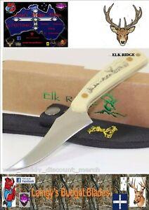 Elk Ridge Skinning knife Imitation Ivory Handle