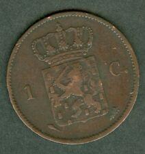 MONNAIE   PAYS BAS   1823  1 CENT  CUIVRE     N° 279