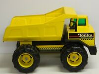 TONKA Mighty Diesel DUMP TRUCK with Wide Rims USA Very Nice Truck 17 in Long//