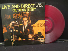 Cal Tjader Quintet - Live And Direct on Fantasy Records 3315 Red Vinyl