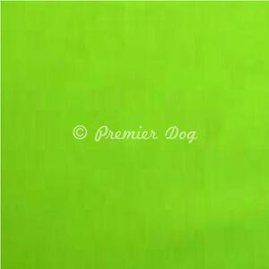 Plain Lime Green Dog Bandana - slips onto your dogs collar -