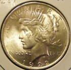 BU 1922 Peace Dollar 90% Silver Very Nice 130923-25