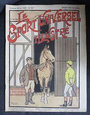 HARRY ELIOTT Le Sport Universel Illustré Grand Prix de Paris 1907 équitation