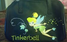 Disney Tinkerbell Fabric Childrens Purse Cosmetics Pencils Bag - Nwt - Black