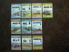 St. Vincent Grenadinen, 10 Zusammendrucke 'Eisenbahn' postfrisch