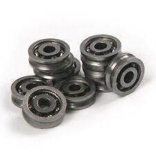 10pcs 3x10x3MM 603VV HCS Deep V Groove Guide Pulley Rail Ball Bearings Wheel