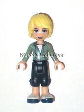 Lego Friends MiniFigure, BEN with Green Shirt & Dark Blue Trousers 41133, New