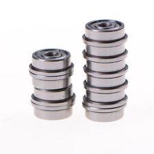 10 STÜCKE MF63zz Mini Metall Doppel Geschirmte Flanschkugellager 3mmX6mmX2.RSDE