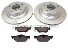 BMW E90 320D 320 DIESEL M SPORT 2005-2011 REAR 2 BRAKE DISCS AND PADS SET
