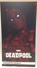 DEADPOOL Sideshow mms 100178 Comic Version Deadpool 1/6 Scale Figure x-force MIB