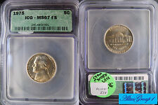 1975 Jefferson nickel IGC MS67 FS Full Steps (very RARE GRADE in ANY service!!!)