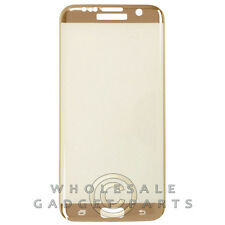 Tempered Glass Screen Protector for Samsung Galaxy S7 Edge Mirror Gold Cover