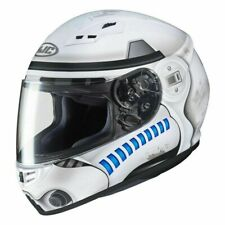HJC STAR WARS Stormtrooper CS-15 Motorcycle Motorbike Helmet - White - Medium