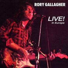 RORY GALLAGHER - LIVE! IN EUROPE (REMASTERED 2011)   CD NEW!