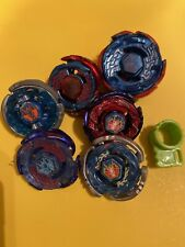 Hasbro Beyblade Metal Fusion/Masters Pegasus Lot Storm Galaxy Cyber Limited Ed.