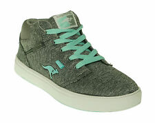 KangaROOS Women's Rickland Grey Blue Casual Sneakers Shoes Size 8