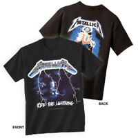 METALLICA T-Shirt Ride The Lightning New Authentic Rock Metal Tee S-3XL