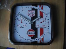 TAG Heuer Monaco Gulf Wanduhr CW2118 Edition Steve Mc Queen Steve McQueen! Neu!