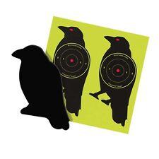 A Murder of Die-Cut Corrugated Plastic Splattering Crow Targets plus FREE extras