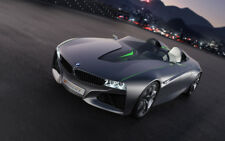 """BMW VISION CONNECTED DRIVE CONCEPT A4 POSTER GLOSS PRINT LAMINATED 11.7""""x7.3"""""""